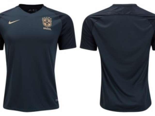 8f78396d3c Site vaza suposta terceira nova camisa da Seleção Brasileira ...
